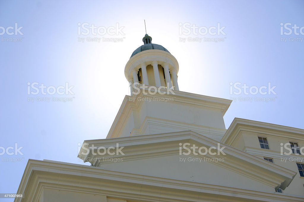 Dome in light royalty-free stock photo