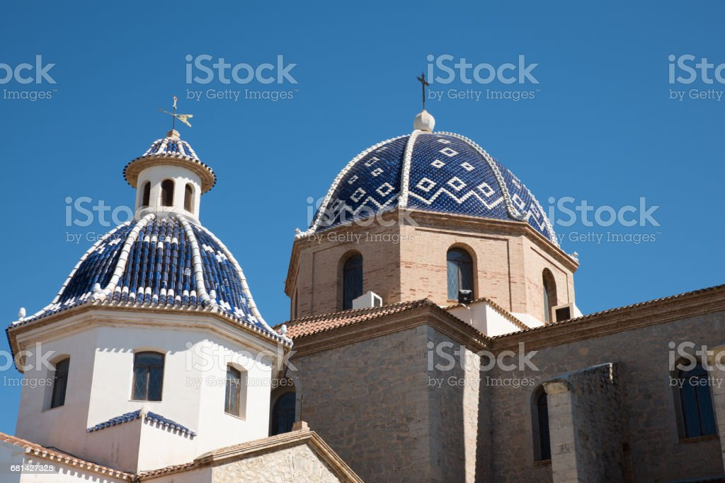 Dome of Altea - foto de stock