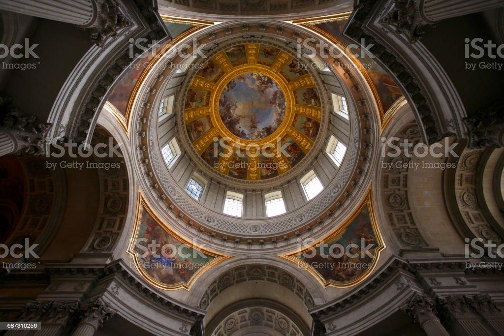 Dome of Les Invalides, Paris stock photo