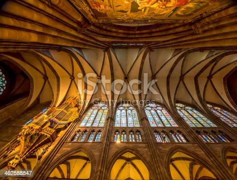 istock Dome of Notre Damme de Strasbourg 462588847