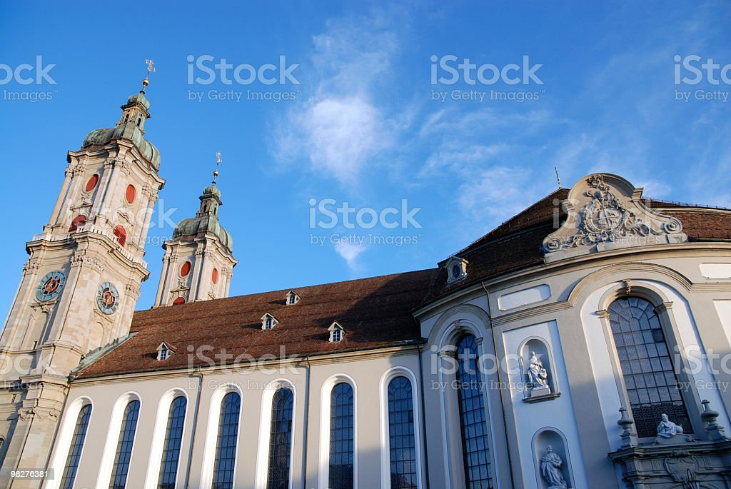 Dome of Sankt Gallen, Switzerland royalty-free stock photo
