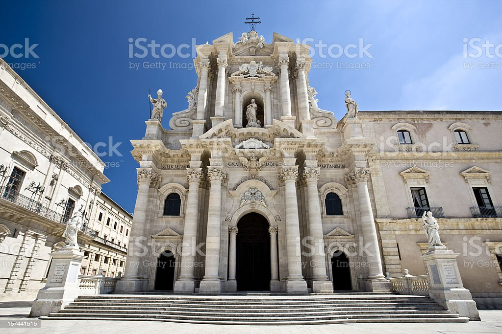 Dome of Siracusa royalty-free stock photo