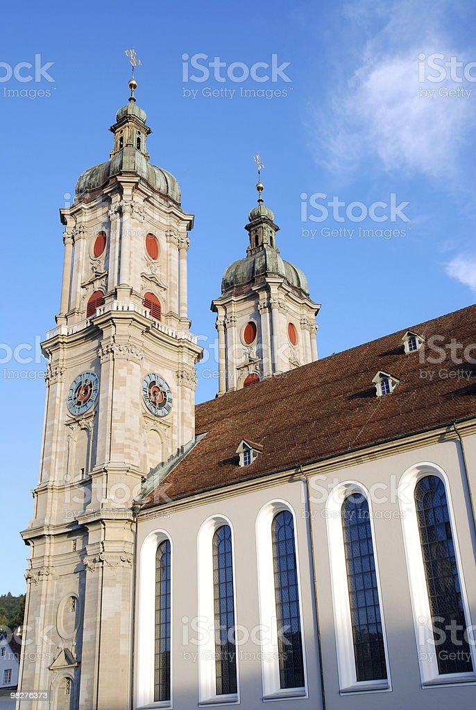 Dome of St. Gallen, Switzerland royalty-free stock photo