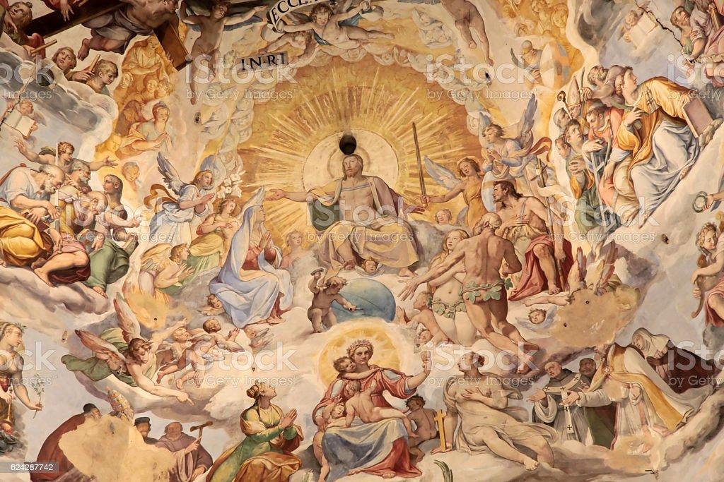Dôme de la cathédrale Santa Maria del Fiore à Florence - Photo