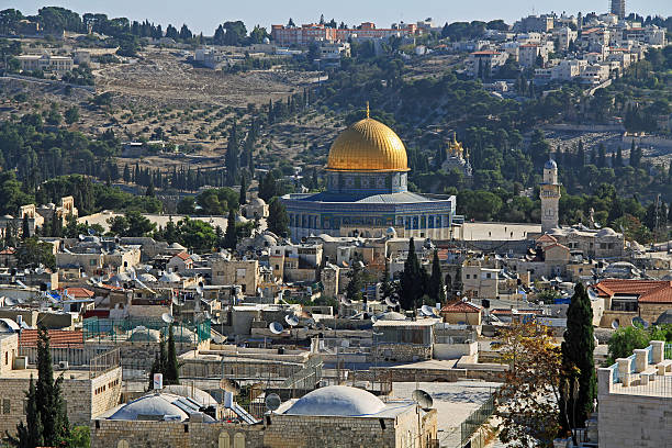 Dome of the Rock as Seen From the Jerusalem Citadel - Photo