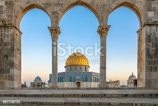 istock Dome of the Rock in Jerusalem 697709732