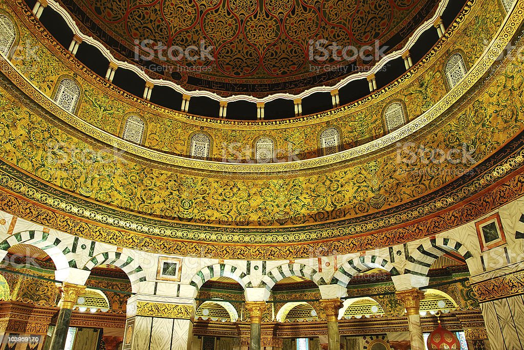 dome of the rock ,jerusalem royalty-free stock photo