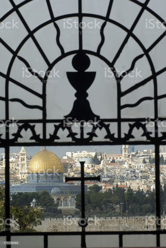 Dome of the rock, Jerusalem stock photo
