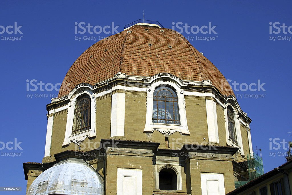 domed building in Florence Italy royalty-free stock photo