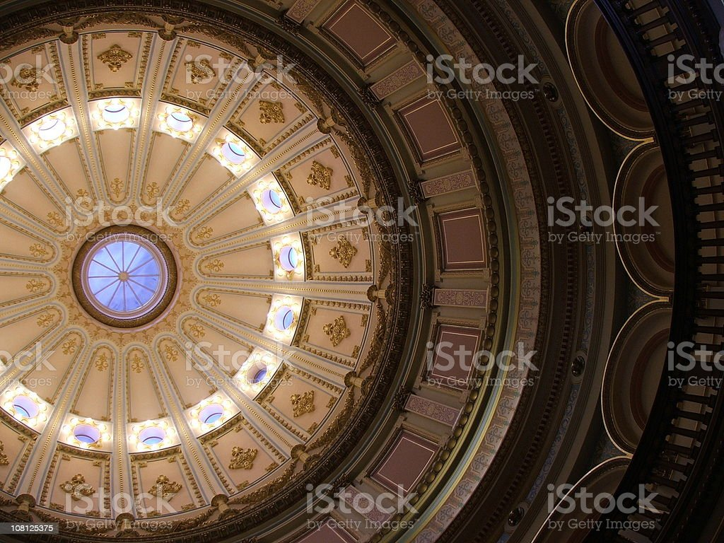 Domed Ceiling royalty-free stock photo