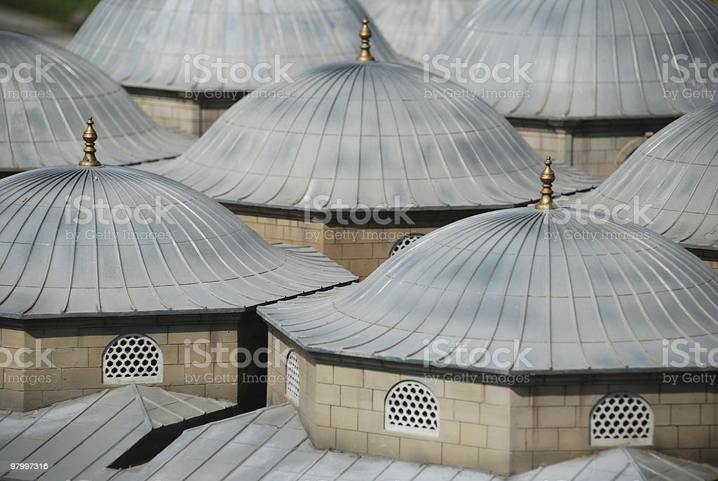 Domes royalty-free stock photo