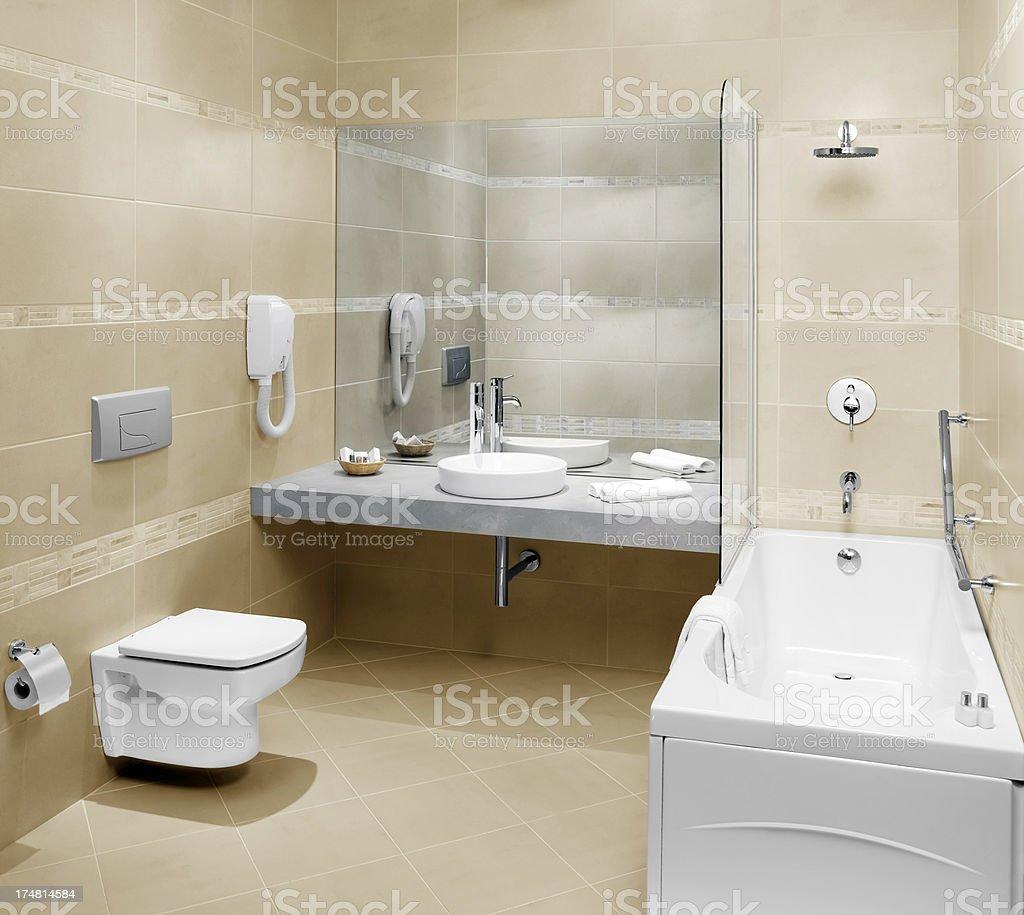 Domestic bathrooms royalty-free stock photo