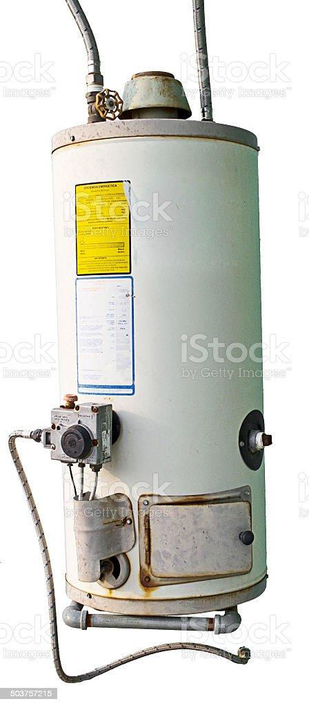 Domestic boiler stock photo
