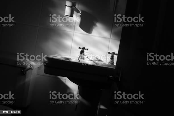 Domestic Ensuite In A Modern House Stock Photo - Download Image Now