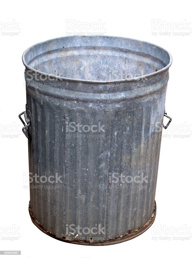 domestic garbage can royalty-free stock photo