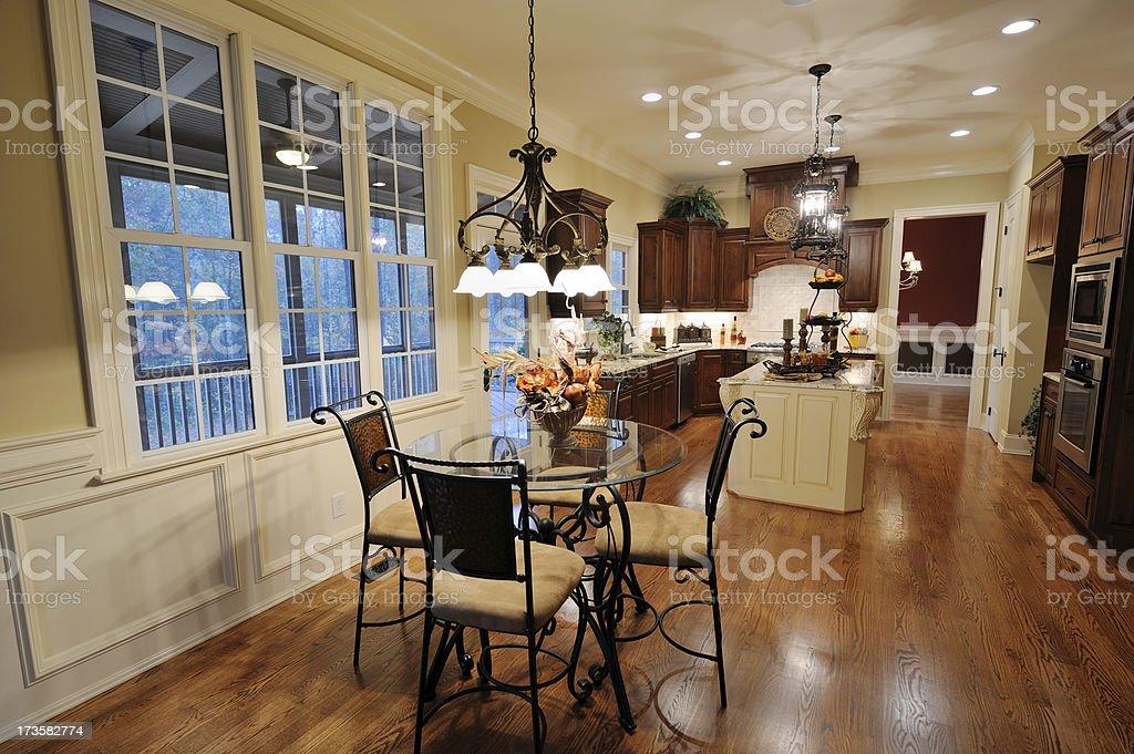 Domestic Kitchen Interior royalty-free stock photo