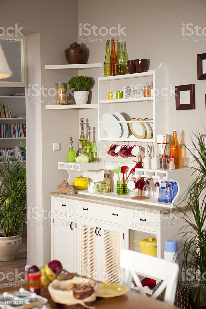domestic kitchen stock photo