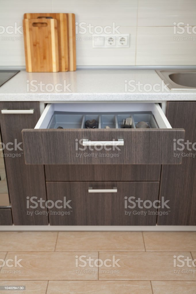 Domestic life concept. High angle top view vertical photo of open...