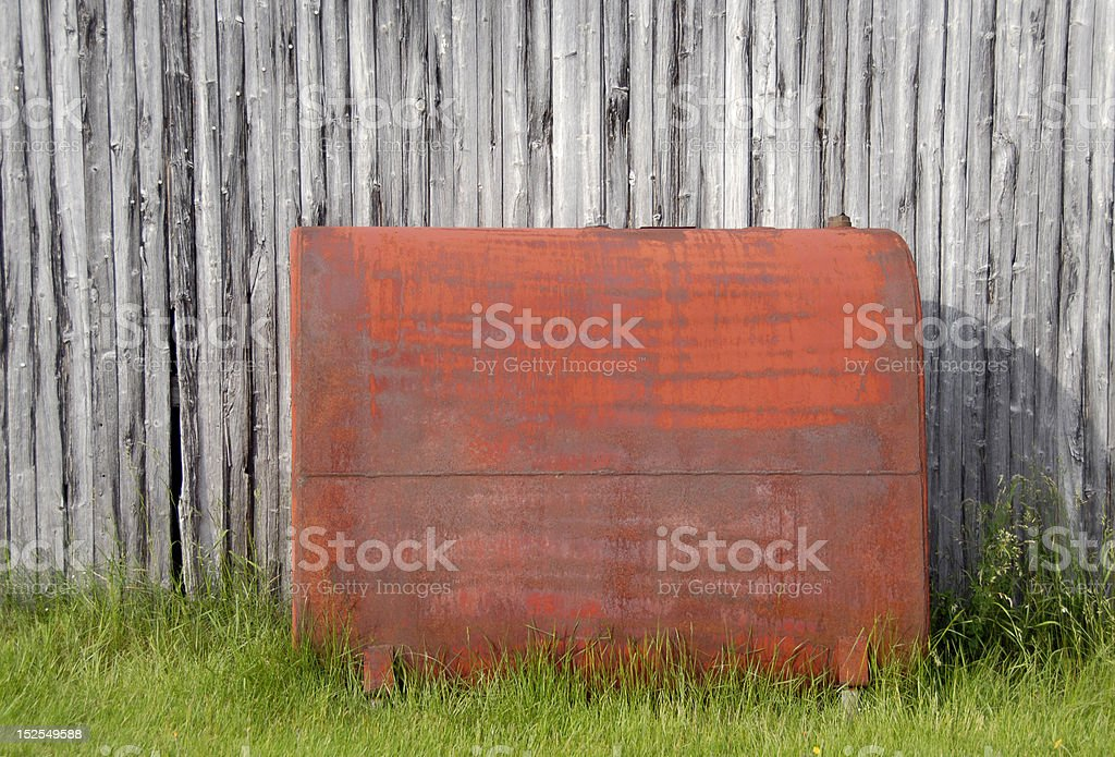 domestic oil tank royalty-free stock photo