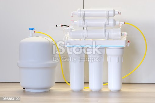 Home water purification system