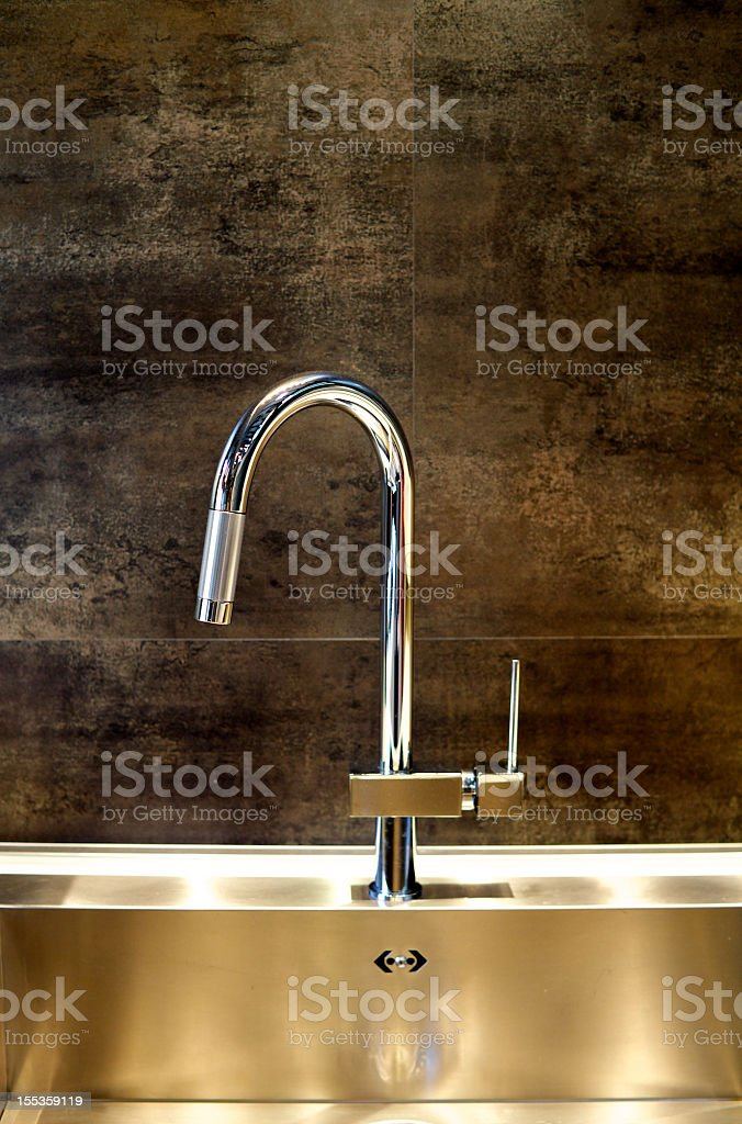 Domestic Sink stock photo