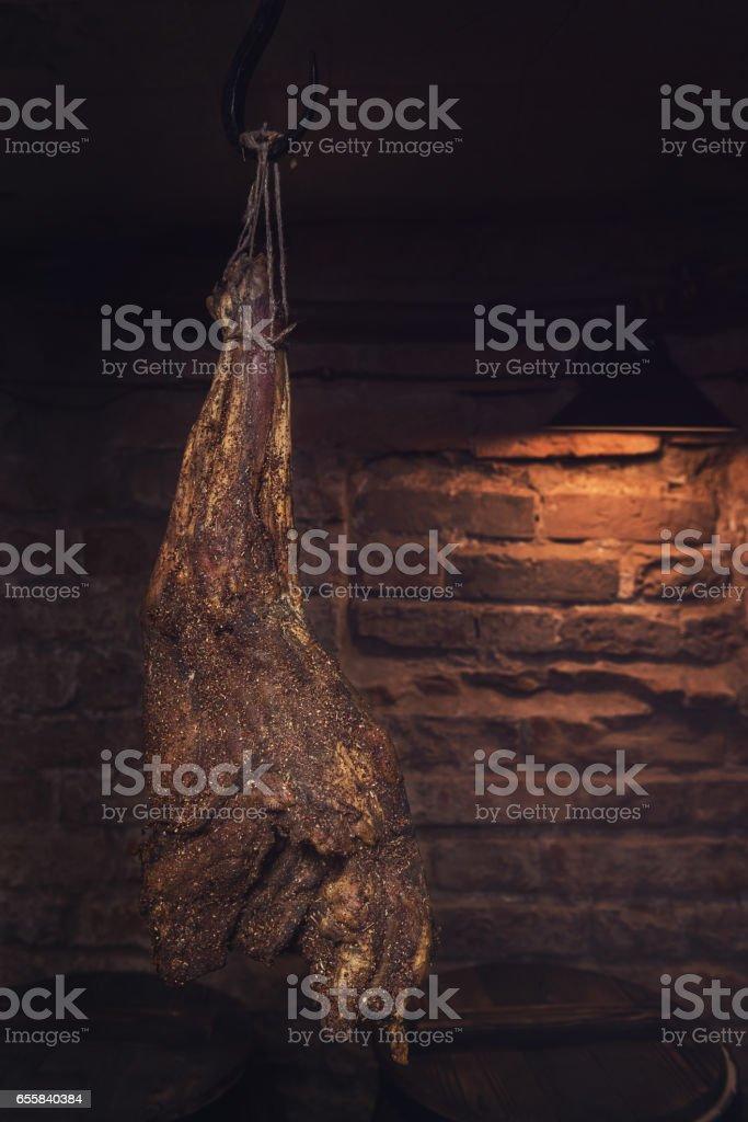 Inländische Rauchfleisch hergestellt – Foto