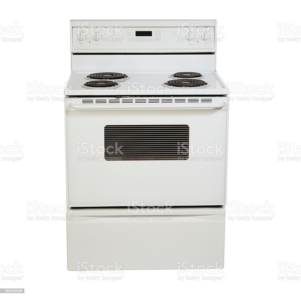 Domestic stove royalty-free stock photo