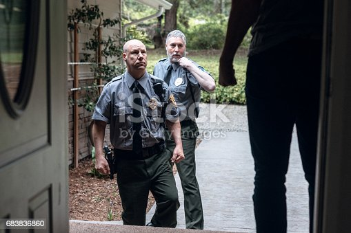 istock Domestic Violence and Police Responders 683836860