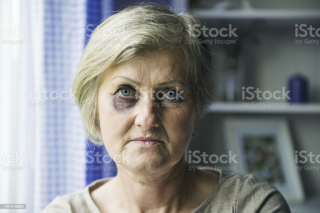 Domestic violence royalty-free stock photo