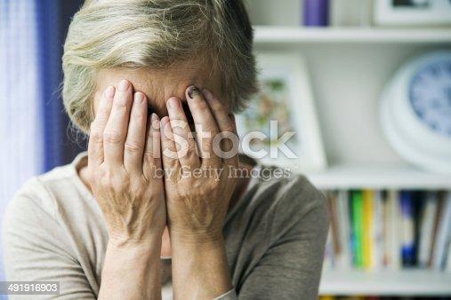 istock Domestic violence 491916903