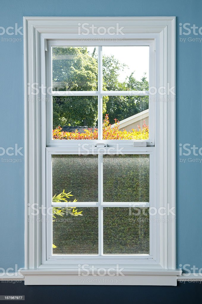Domestic Window With View royalty-free stock photo