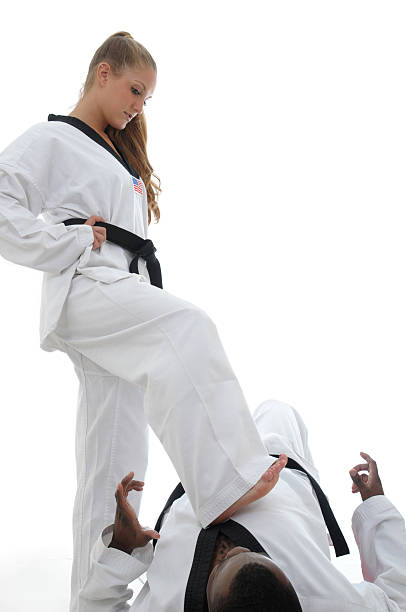 dominant - martial arts gerville stock photos and pictures