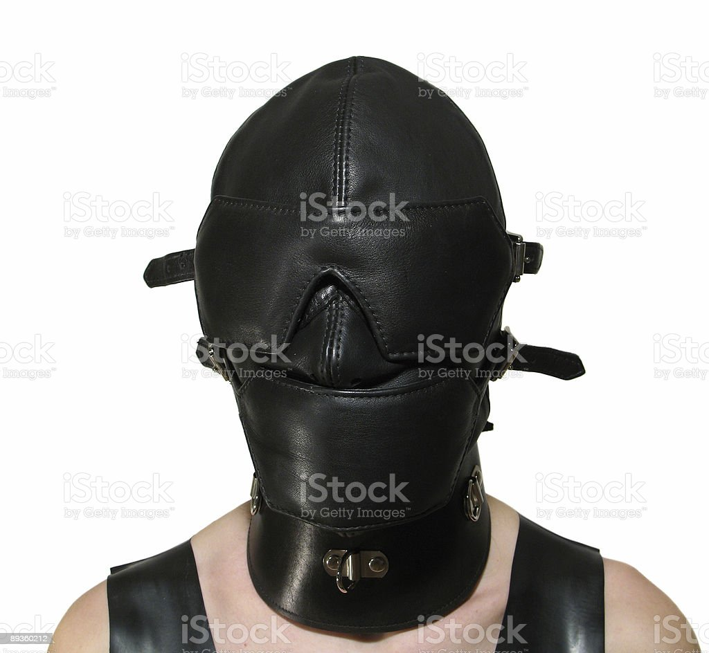 Domination mask royaltyfri bildbanksbilder