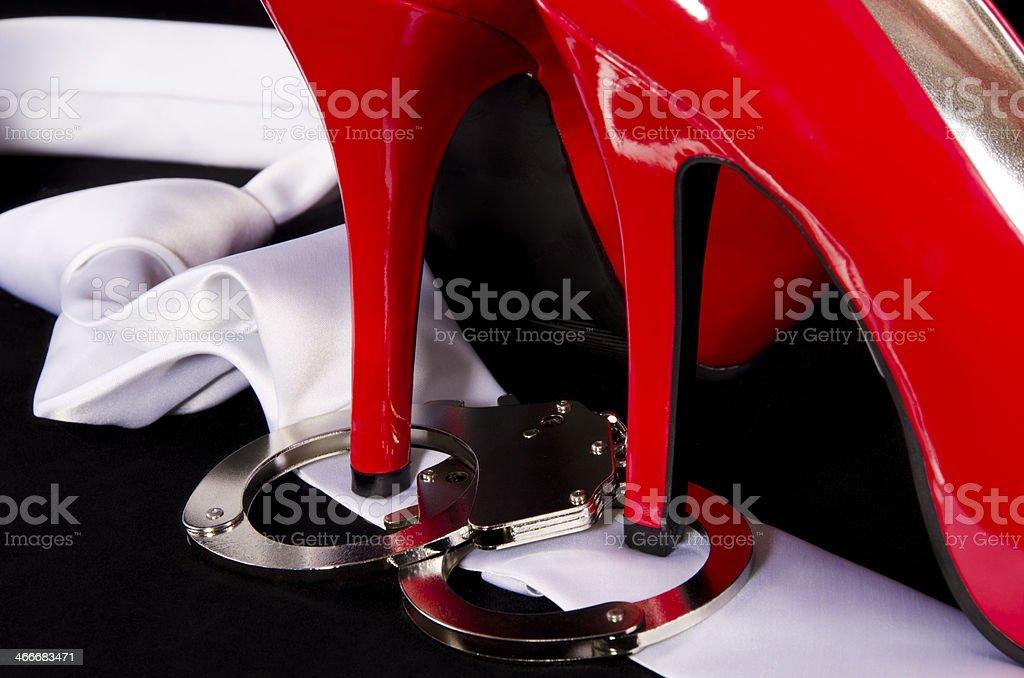 Доминирование высокими каблуками