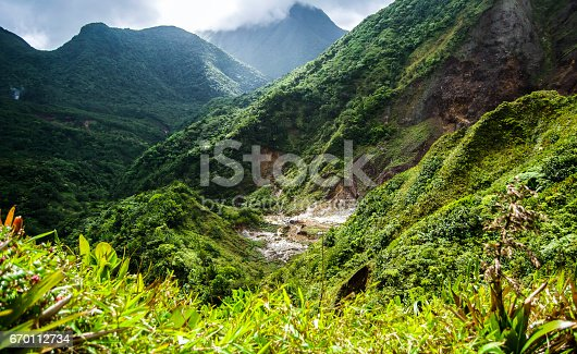 istock Dominica Mountain Top 670112734