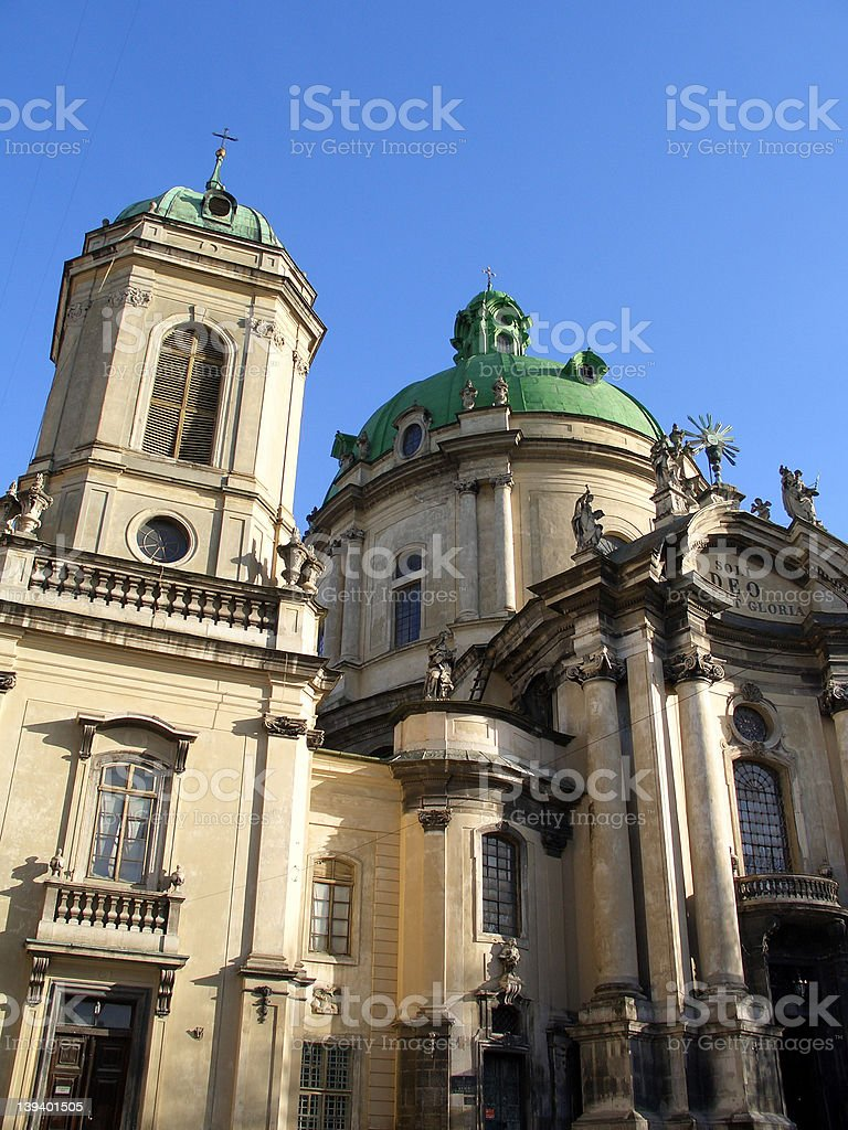 dominican cathedral royalty-free stock photo