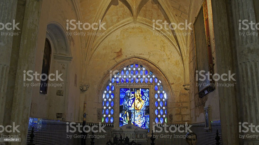 dominican church royalty-free stock photo