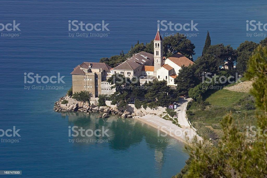 Dominican Monastery in Bol, Brac Island, Croatia The Dominican Monastery in Bol, on the south side of Brac Island, Croatia Adriatic Sea Stock Photo