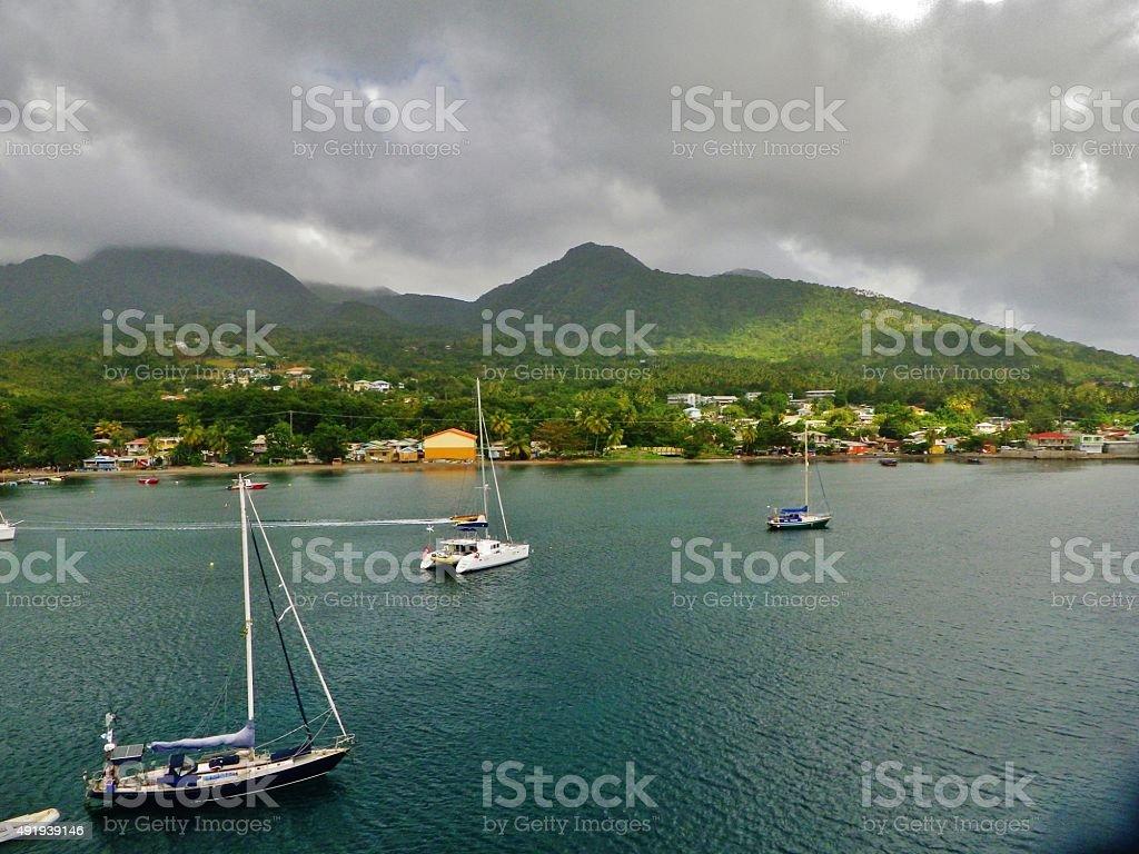 Dominican Paradise stock photo