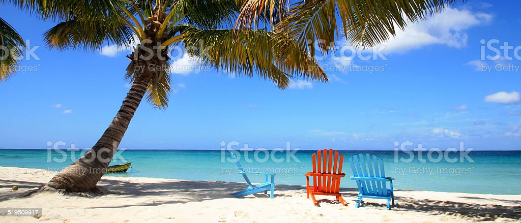 République Dominicaine - Bayahibe stock photo