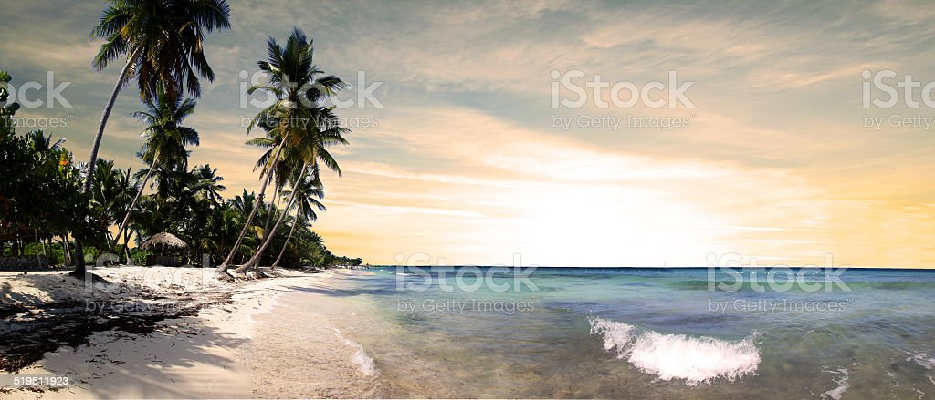 Dominican Republic - Bayahibe stock photo