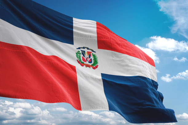 Silhouette Of A Dominican Republic Flag Wallpaper Pictures Images And Stock Photos