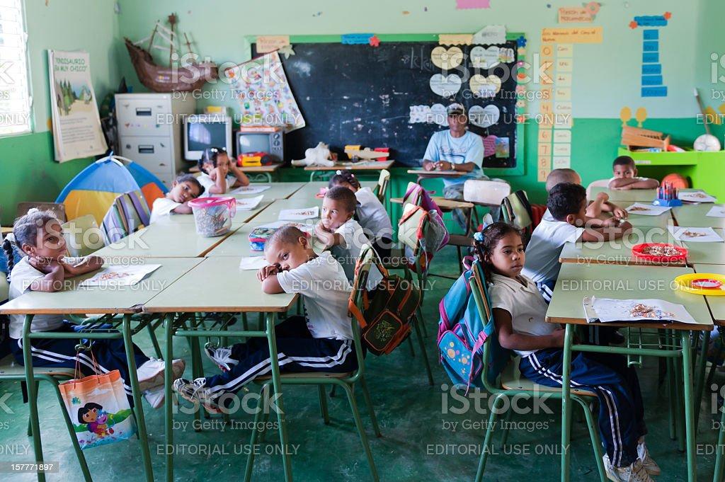 Dominican School  Child Stock Photo