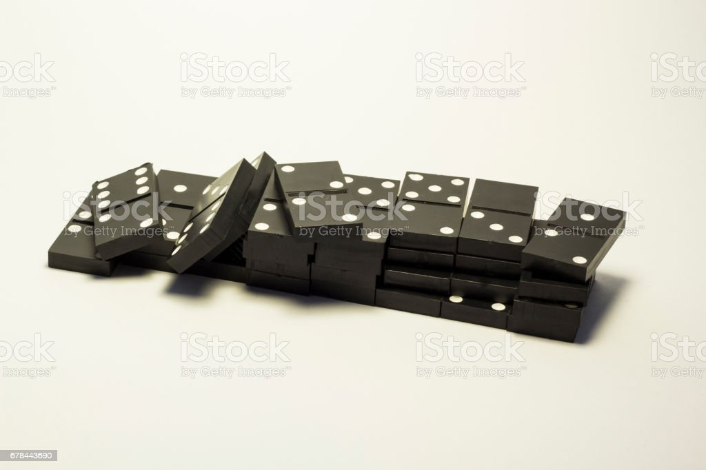 Domino knuckles royalty-free stock photo
