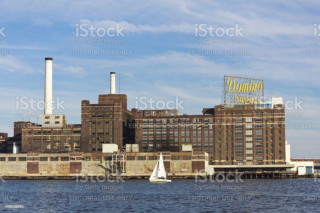 Domino Sugar Factory, Baltimore Maryland stock photo