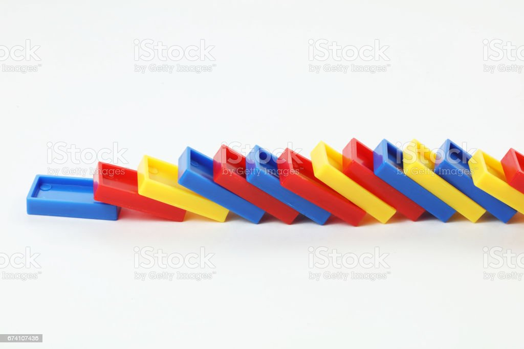 dominoes concept royalty-free stock photo