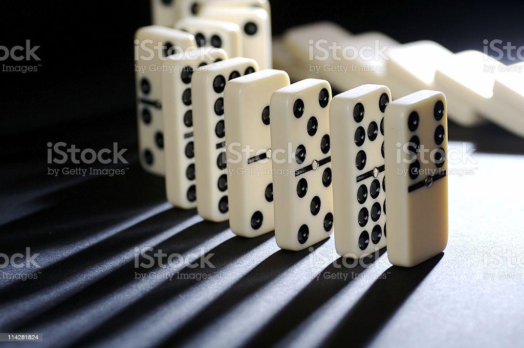 Dominoes V5... stock photo