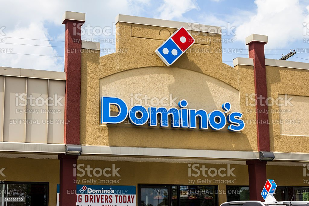 Domino's Pizza Carryout Restaurant II stock photo