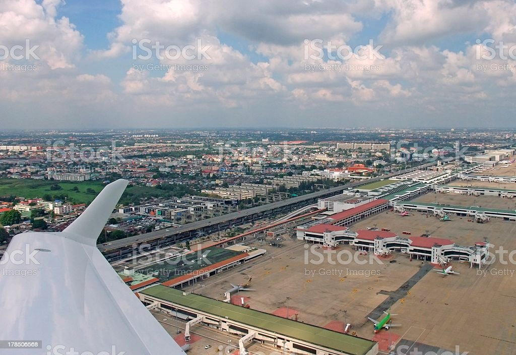 Don Mueang International Airport royalty-free stock photo