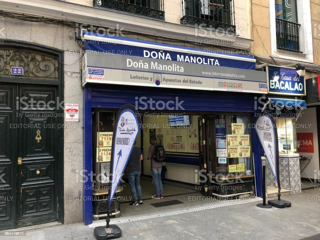 dona Manolita loteria nacional - Royalty-free Abundance Stock Photo
